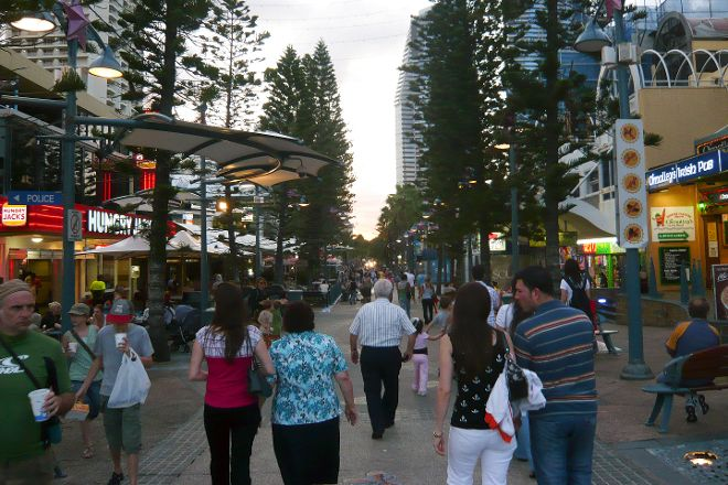 Cavill Mall, Surfers Paradise, Australia