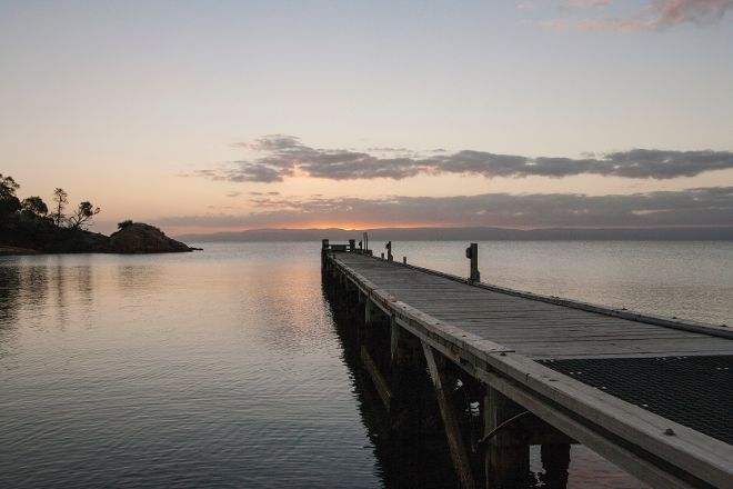 Coles Bay Jetty, Freycinet, Australia
