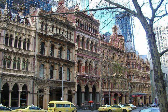 Collins St/Swanston St, Melbourne, Australia