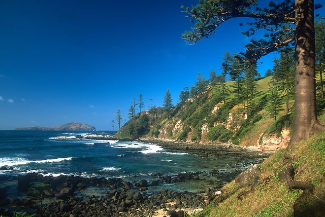 Cresswell Bay, Norfolk Island, Australia