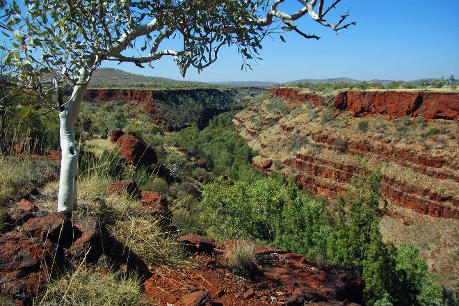 Dales Gorge Campground, Karijini National Park, Australia