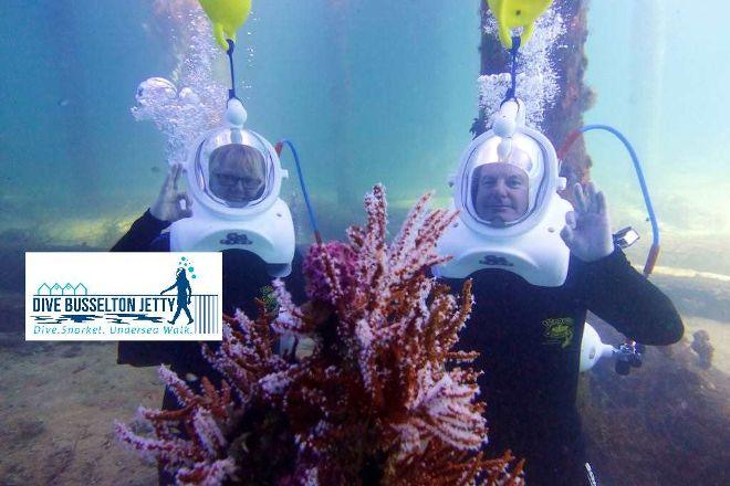 Dive Busselton Jetty, Busselton, Australia