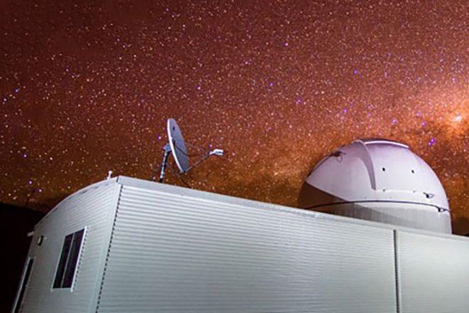 Donna the Astronomer, Coonabarabran, Australia