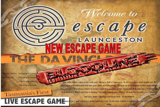 Escape Launceston, Kings Meadows, Australia