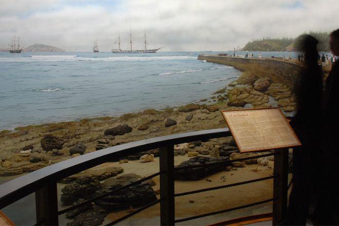 Fletcher's Mutiny Cyclorama, Norfolk Island, Australia
