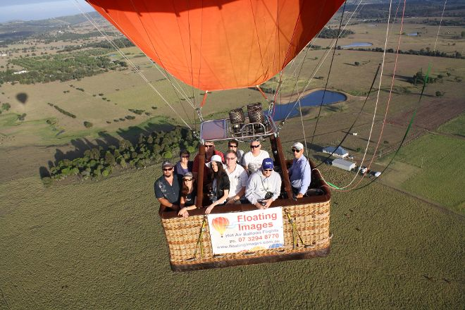 Floating Images Hot Air Balloon Flights, Ipswich, Australia
