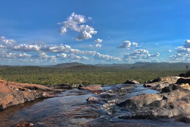 Gunlom Waterfall Creek, Kakadu National Park, Australia