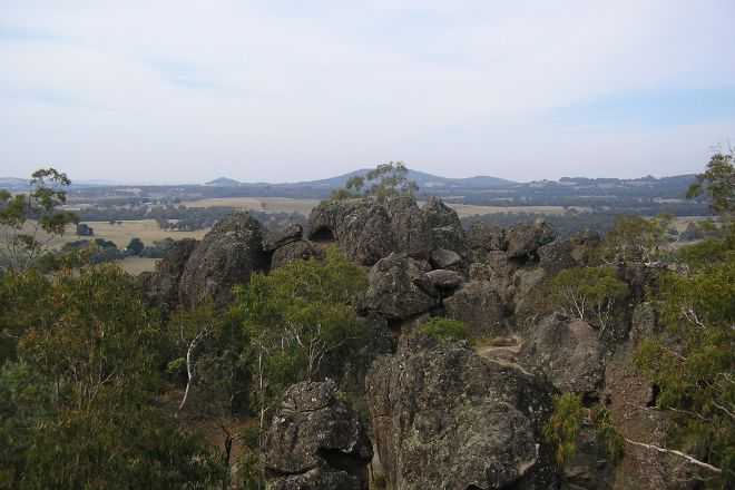 Hanging Rock Reserve, Woodend, Australia