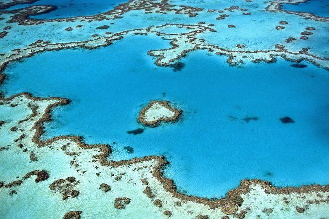 Heart Reef, Airlie Beach, Australia