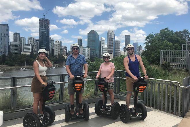 Kangaroo Segway Tours, Brisbane, Australia