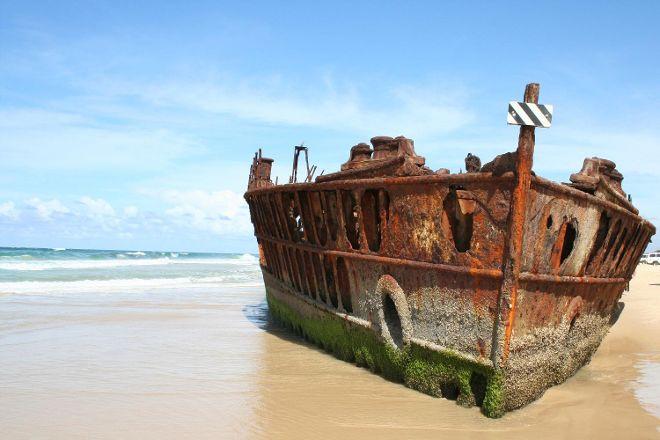 Maheno Wreck, Fraser Island, Australia