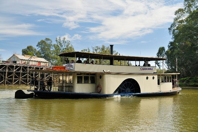 Murray River Paddlesteamers - PS Canberra, Echuca, Australia