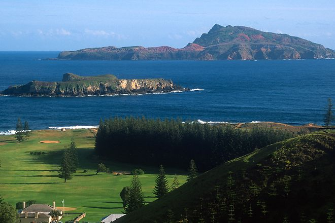 Nepean Island, Norfolk Island, Australia