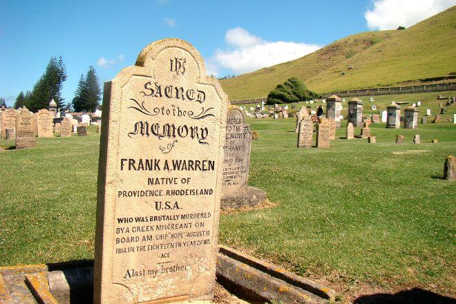 Norfolk Island Cemetery, Kingston, Australia