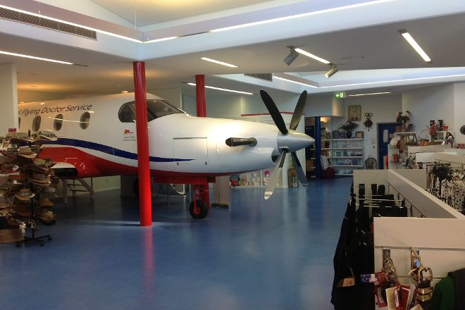 Royal Flying Doctor Service Museum, Alice Springs, Australia