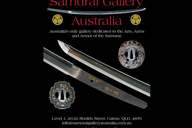 Samurai Gallery Australia, Cairns, Australia