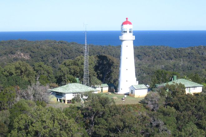 Sandy Cape Lighthouse, Fraser Island, Australia