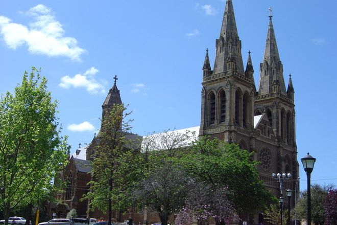 St Peter's Cathedral, Adelaide, Australia