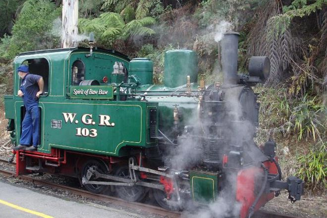 Walhalla Goldfields Railway, Walhalla, Australia