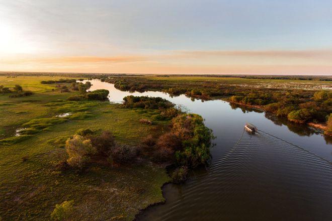 Wetland Cruises - Corroboree Billabong, Darwin, Australia