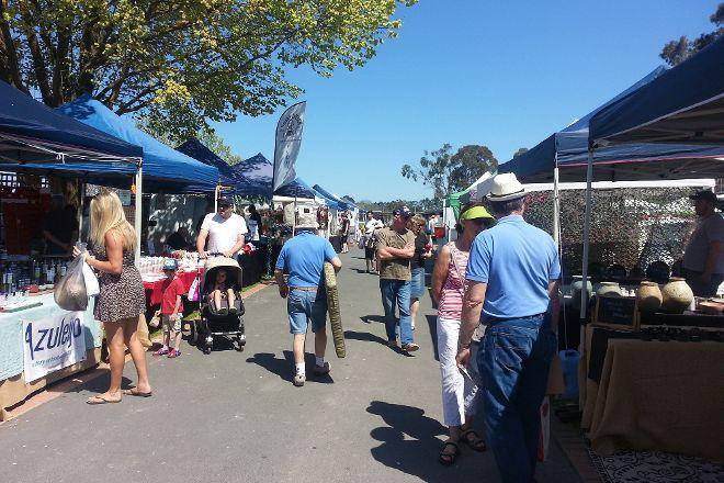 Yarra Glen Racecourse Market, Yarra Glen, Australia