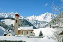 Pfarrkirche Hl. Antonius in Niederthai, Umhausen, Austria