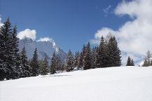 Skigebiet Hochmoos, Leutasch, Austria