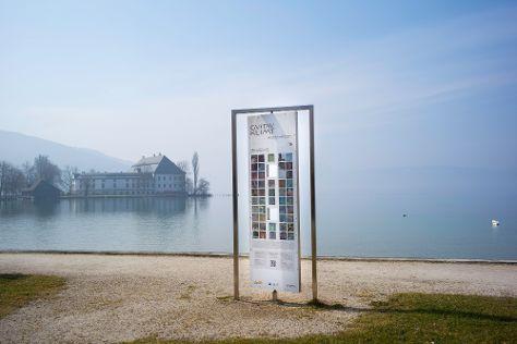 Gustav Klimt Themenweg, Seewalchen am Attersee, Austria