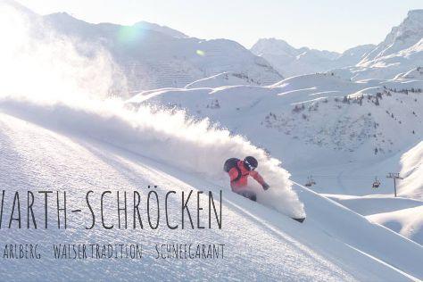 Skigebiet Warth Schrocken, Warth, Austria