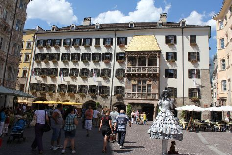 The Golden Roof (Goldenes Dachl), Innsbruck, Austria