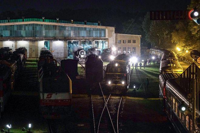 Das Heizhaus Eisenbahnmuseum Strasshof, Strasshof an der Nordbahn, Austria