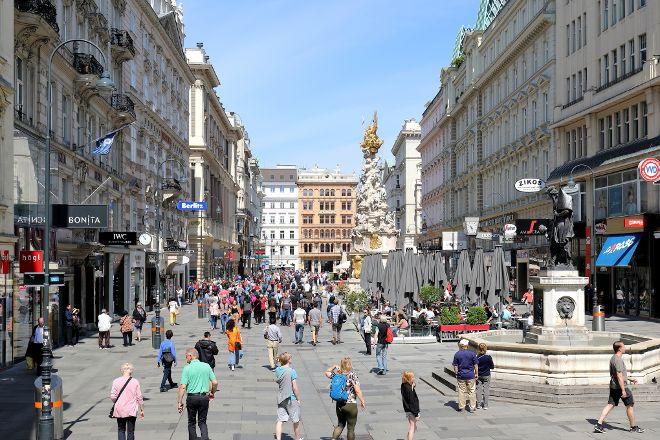 Graben and Kohlmarkt, Vienna, Austria