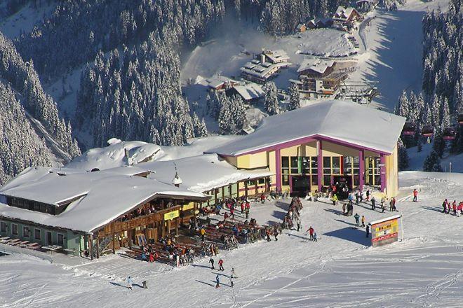 Hochfugen Skigebiet, Fugen, Austria