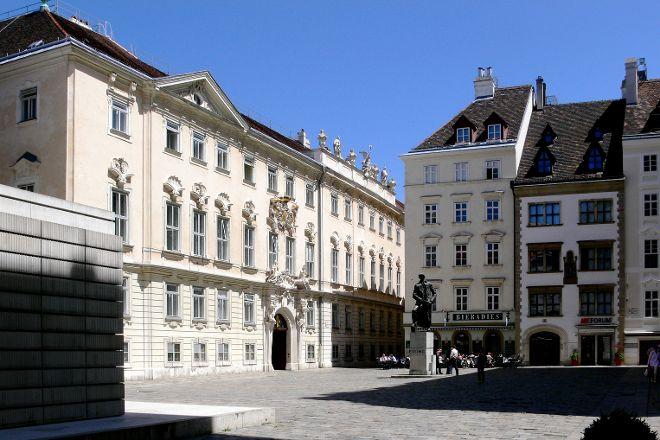 Judenplatz Holocaust Memorial, Vienna, Austria