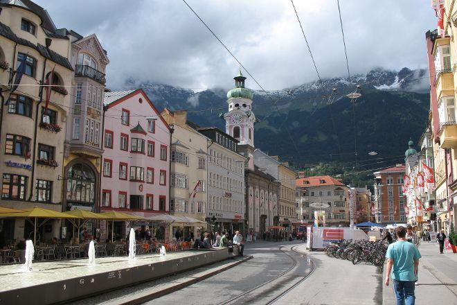 Maria-Theresien-Strasse, Innsbruck, Austria