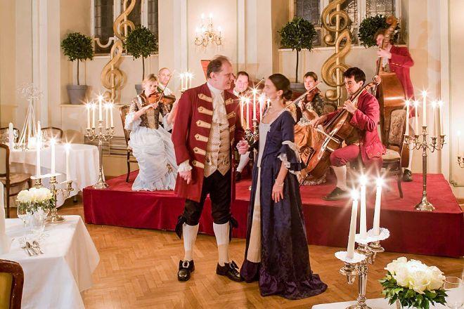 Mozart Dinner Concert, Salzburg, Austria