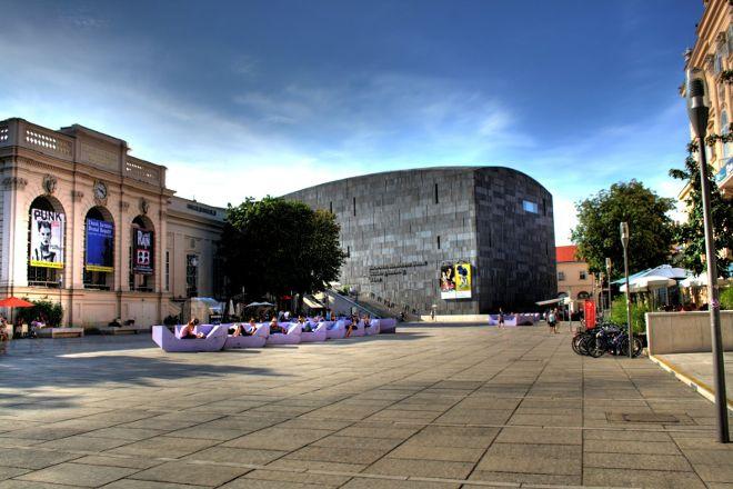 MuseumsQuartier Wien, Vienna, Austria