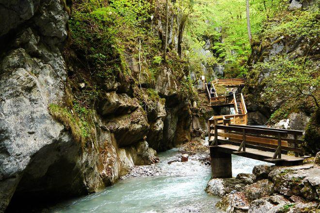 Naturdenkmal Seisenbergklamm, Weissbach bei Lofer, Austria
