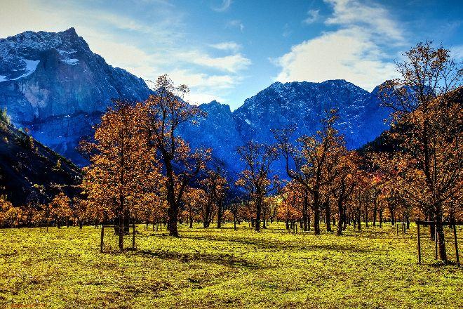 Naturschutzgebiet Grosser Ahornboden, Hinterriss, Austria