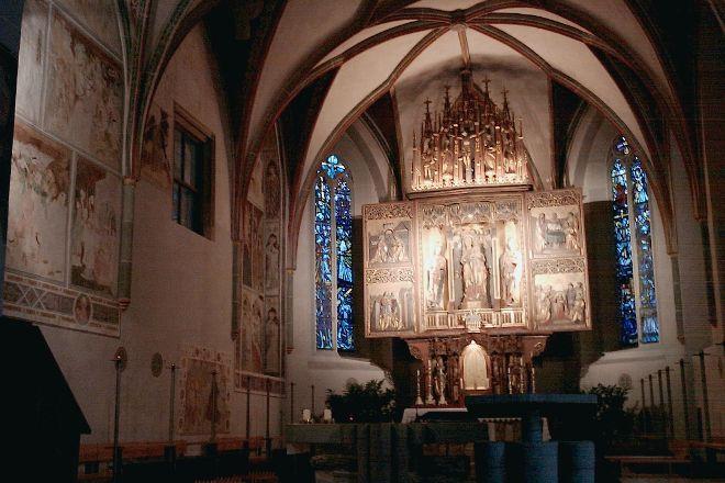 Parish Church Of St. Oswald, Seefeld in Tirol, Austria