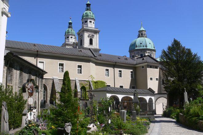 Petersfriedhof, Salzburg, Austria