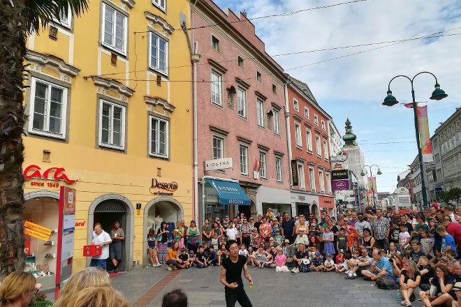Pflasterspektakel, Linz, Austria