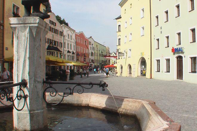 Rattenberg - Medieval pedestrian zone, Rattenberg, Austria