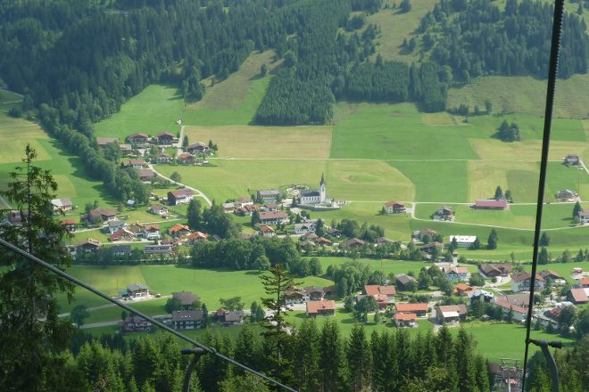 Sessellift Wannenjoch, Tannheim, Austria