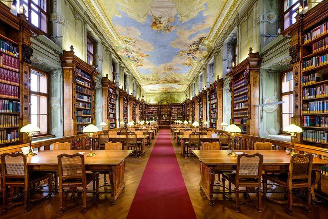 State Hall of the Austrian National Library, Vienna, Austria