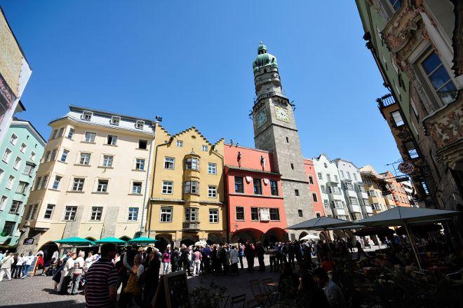 Town Tower (Stadtturm), Innsbruck, Austria