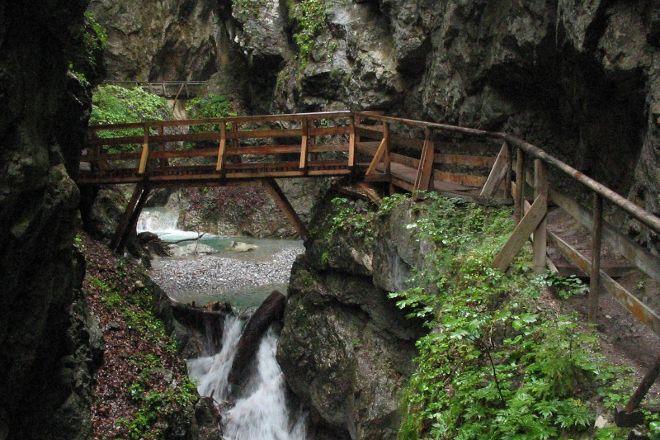 Wolfsklamm Gorge, Stans, Austria