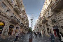 Oil Boom Architecture in Downtown Baku, Baku, Azerbaijan