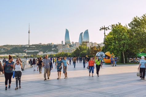 Baku Boulevard, Baku, Azerbaijan