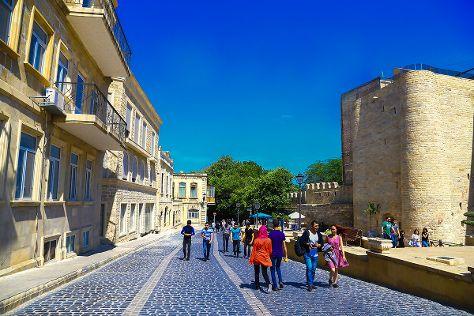 Baku Old City, Baku, Azerbaijan